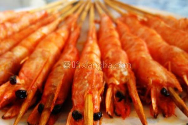 竹签虾的做法