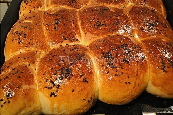 燕麦面包的做法
