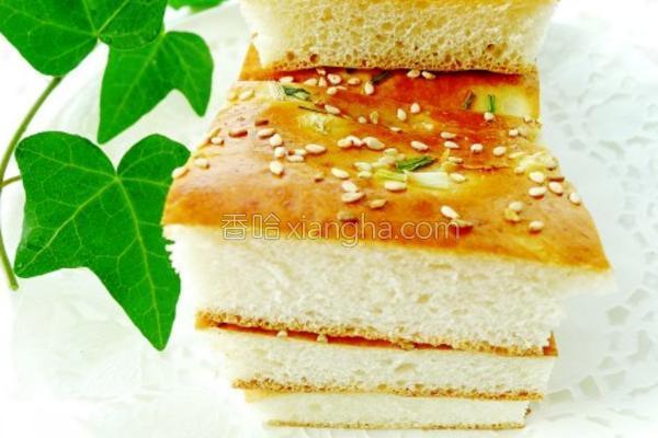 香葱面包饼的做法