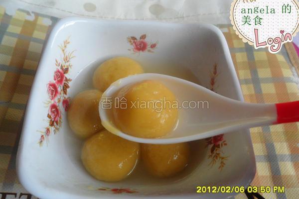 红薯汤圆的做法