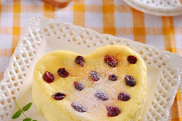 蔓越莓乳酪蛋糕的做法