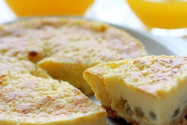 菠萝酥乳酪蛋糕的做法