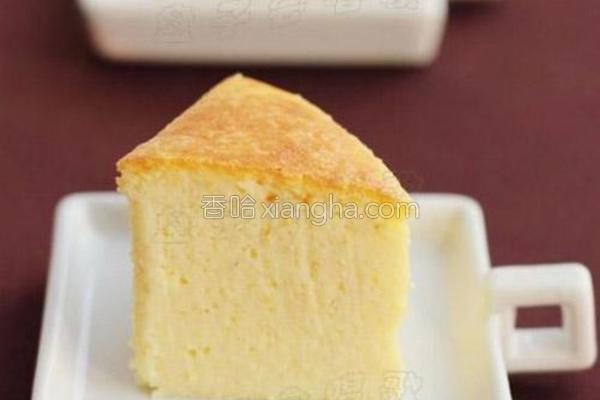 豆渣重乳酪蛋糕的做法