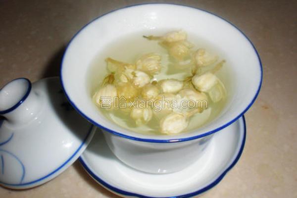 茉莉花蜂蜜茶的做法