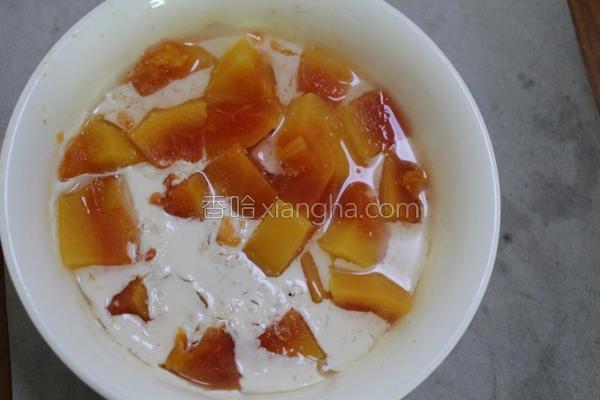 木瓜牛奶糖水的做法