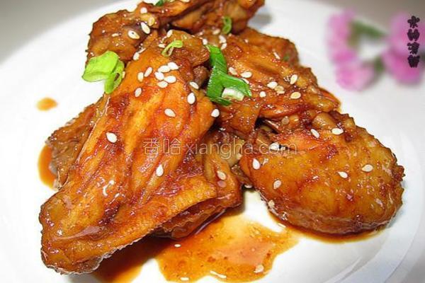 红糖焗鸡中翅的做法
