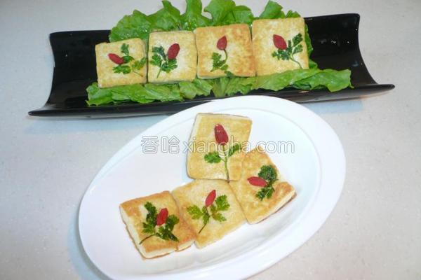 香煎豆腐的做法