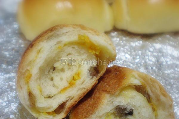 桔香面包成品图
