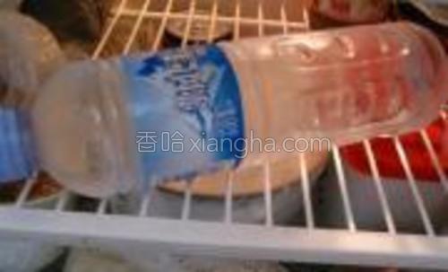 准备好一瓶冷水~