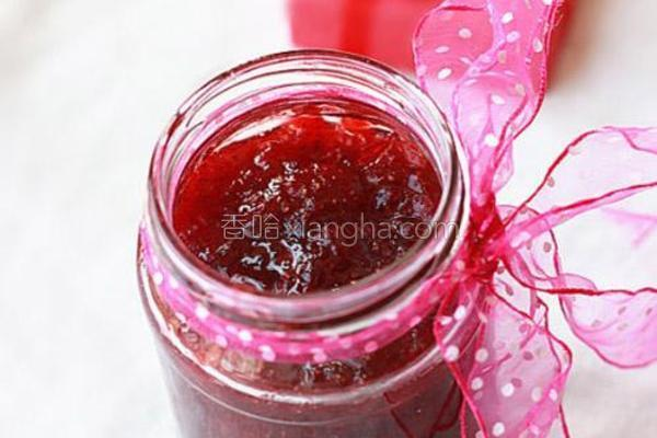 自制香甜草莓酱的做法
