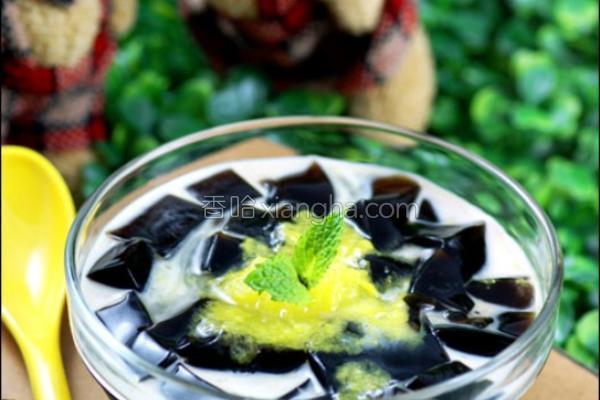 果香龟苓膏的做法