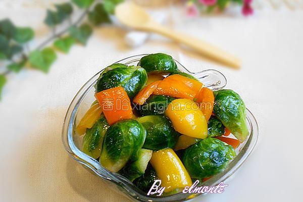 蚝油小包菜