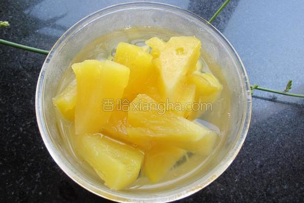 糖水菠萝成品图