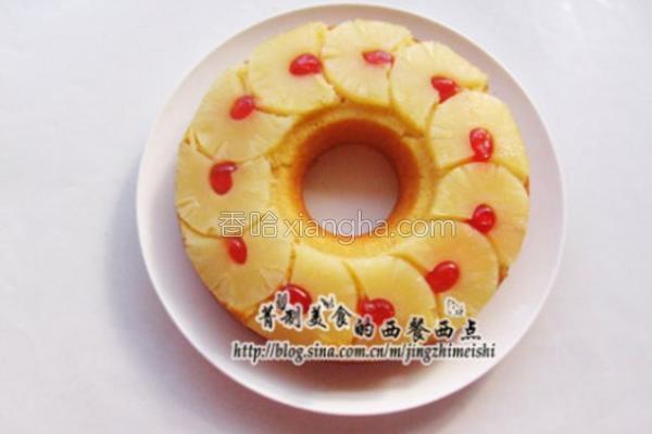 菠萝反转蛋糕的做法