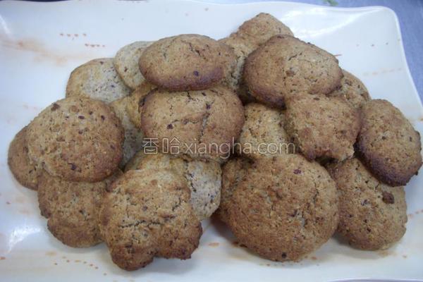 花生黄豆饼干的做法