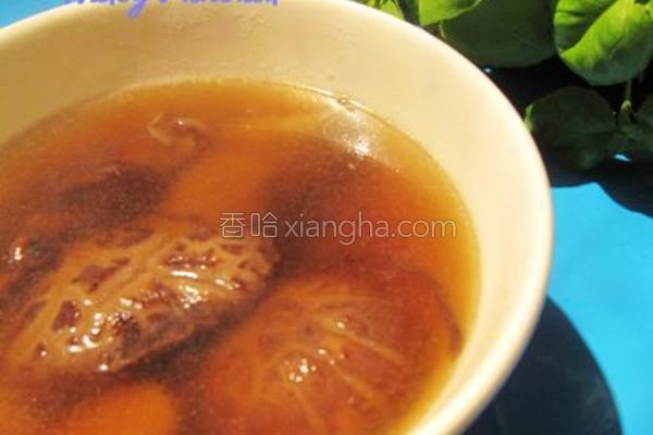 菌菇汤成品图