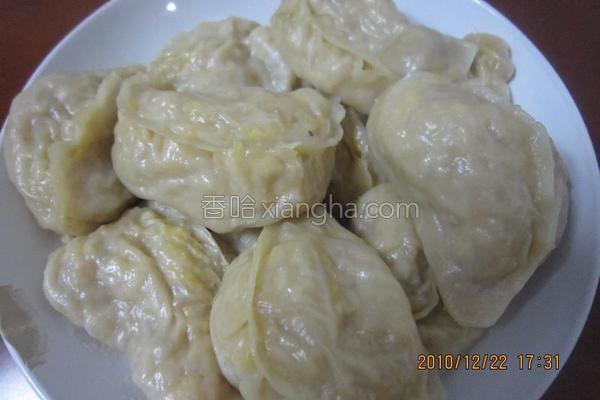冬至饺子菜饺子的做法