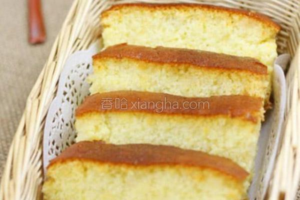 长崎蛋糕的做法