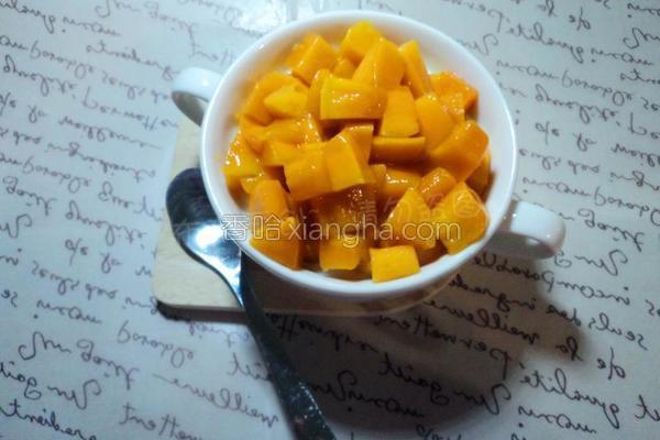 芒果双皮奶的做法