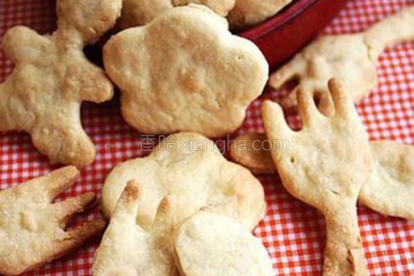 杏仁小饼干的做法