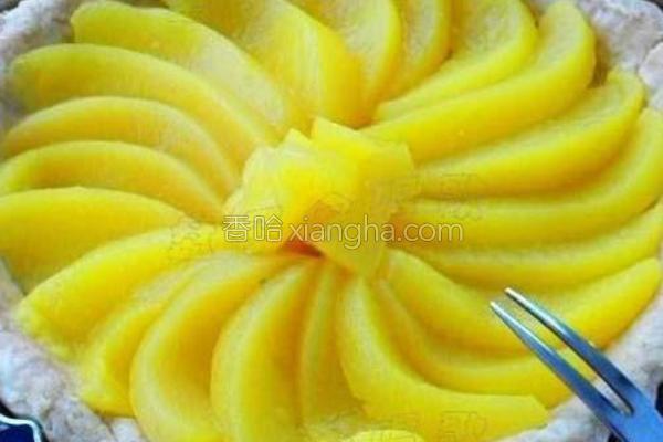 黄桃派的做法