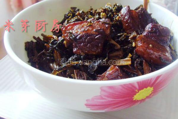 梅干菜烧肉的做法
