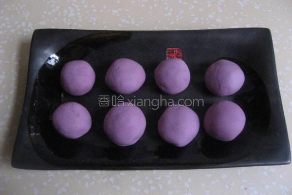 紫糯鲜肉汤圆的做法