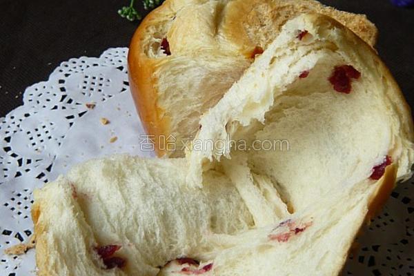 蔓越莓袖珍土司的做法