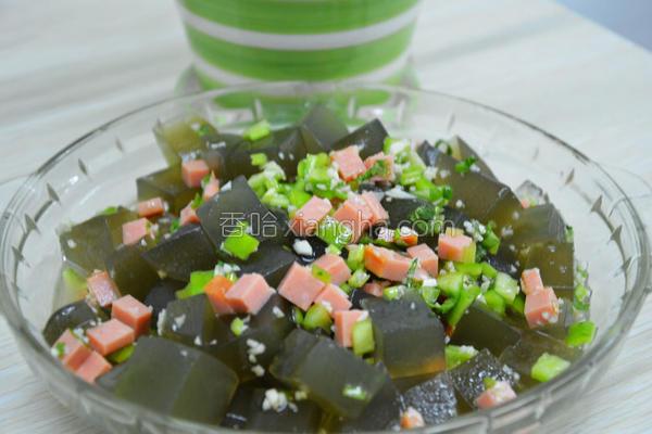 爽口海菜凉粉的做法