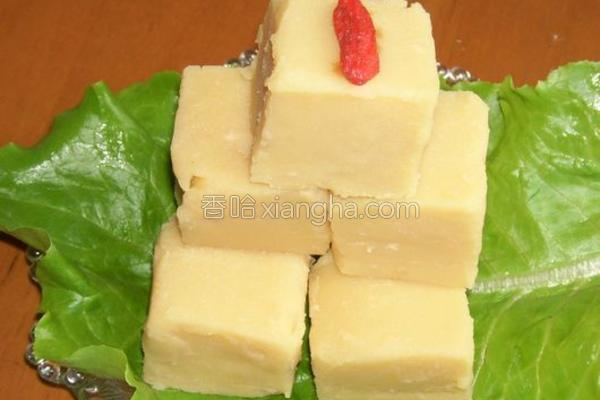老北京豌豆黄的做法