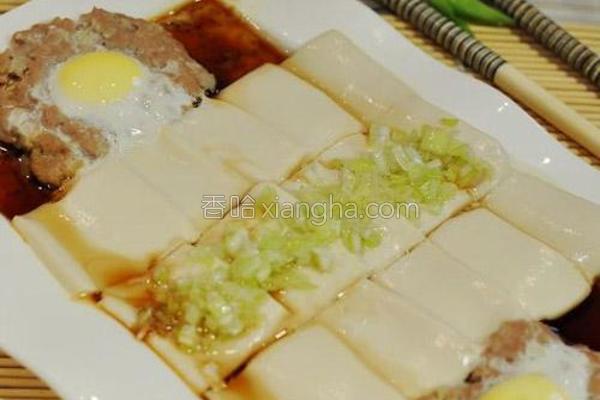 特色蒸豆腐的做法