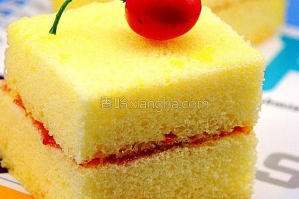 柠檬玉米蛋糕的做法