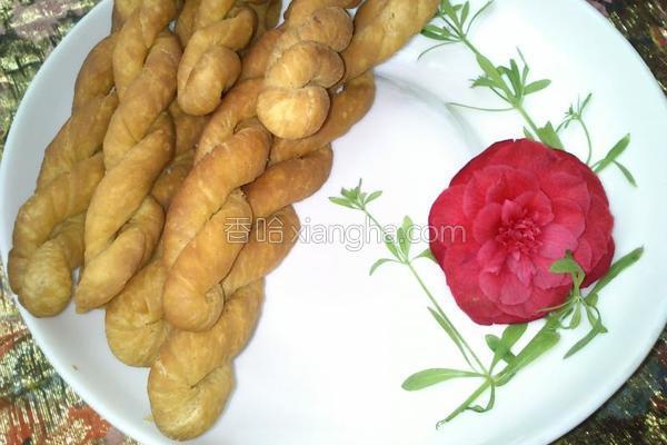 香酥麻花的做法