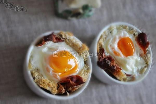 培根鸡蛋杯