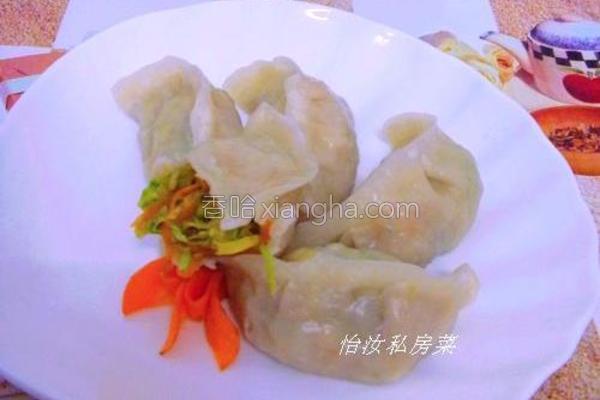 三丝蒸饺的做法