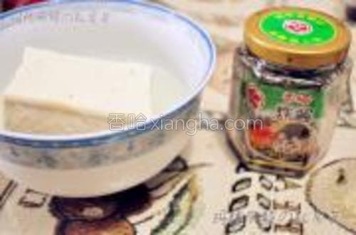 主食材:豆腐、香椿酱。