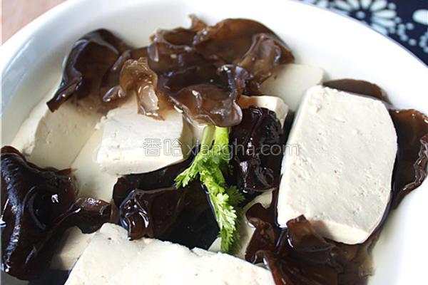 农家蘸水豆腐的做法