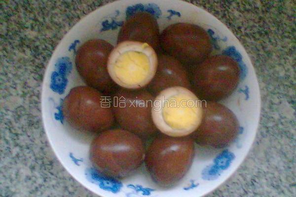 台湾卤蛋的做法