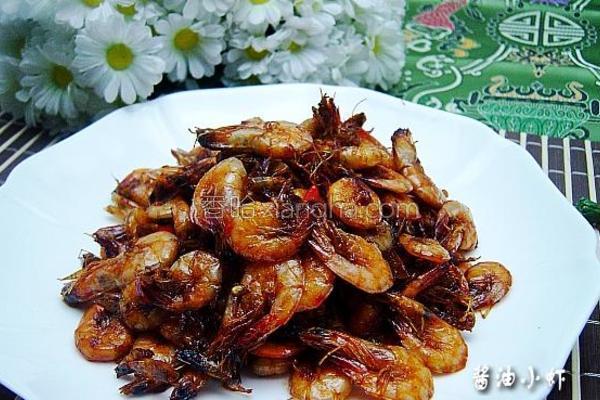 酱油小虾成品图