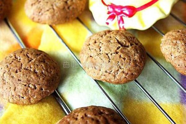 香酥咖啡小饼干的做法