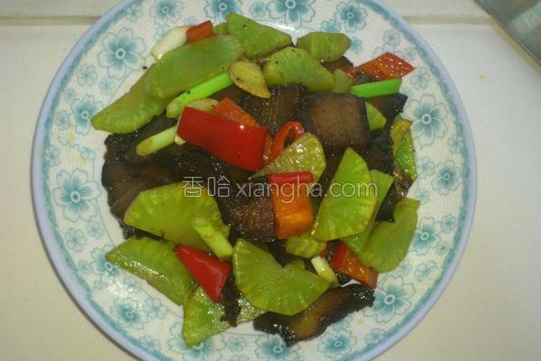 青笋炒腊肉
