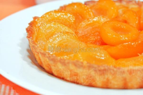 焦糖杏子派的做法