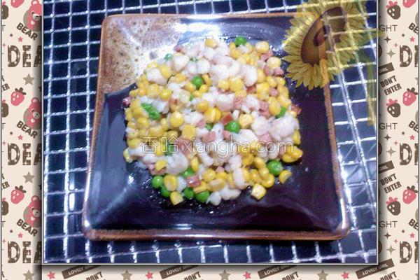 缤纷鱼米的做法