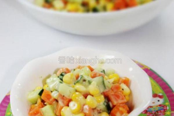经典蔬菜沙拉的做法