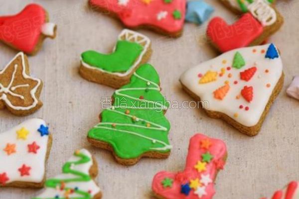 圣诞姜饼的做法