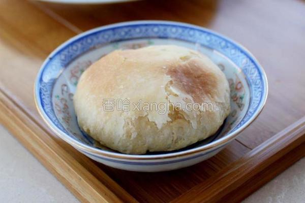 中式酥皮太阳饼的做法