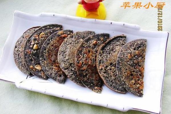 麻香煎饼成品图