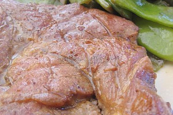 香煎猪排的做法