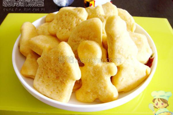 微波蜂蜜饼干