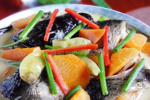 泡椒烧鱼头的做法